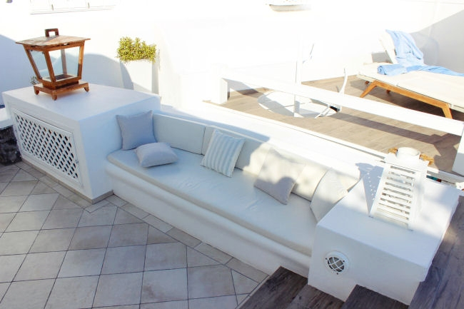 Aqua Luxury Suites (Imerovigli) balcony look