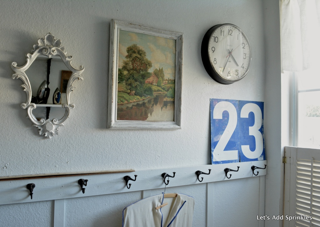 using numbers in your home decor and a giveaway