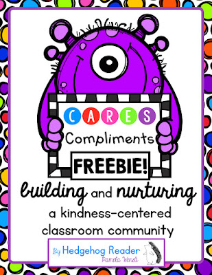 behavior management system to build a kindness centered classroom community