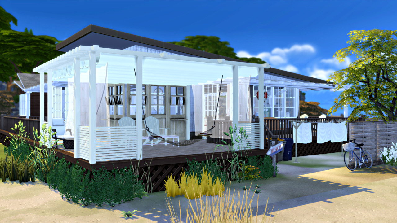 sims 4 cc's - the best: beach house by blackmojitos, Badezimmer ideen