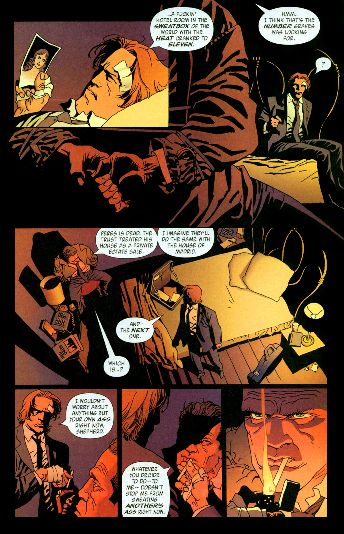 Read online 100 Bullets comic -  Issue #56 - 22