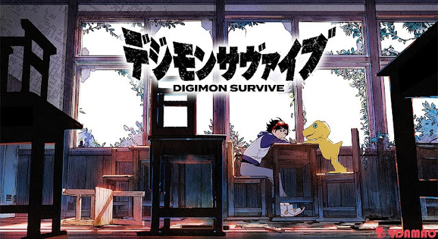 DIGIMON SURVIVE – RPG REVELADO PARA PS4 E SWITCH