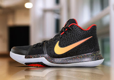 3e8d4972e673 ... australia first look nike kyrie 3 black red yellow pe 99521 db752