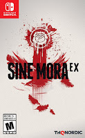 Sine Mora Ex Game Cover Nintendo Switch
