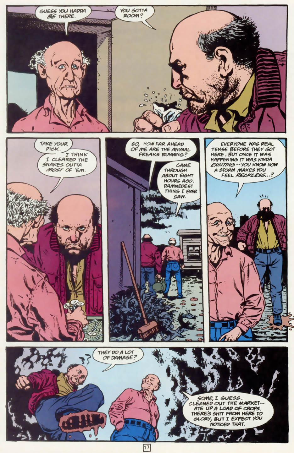 Read online Animal Man (1988) comic -  Issue #75 - 18