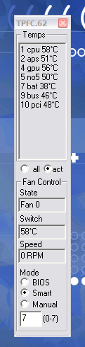 ThinkPad Fan Control | TechJournal