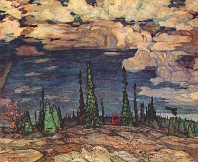 Alexander Young Jackson - Tierra salvaje - 1913