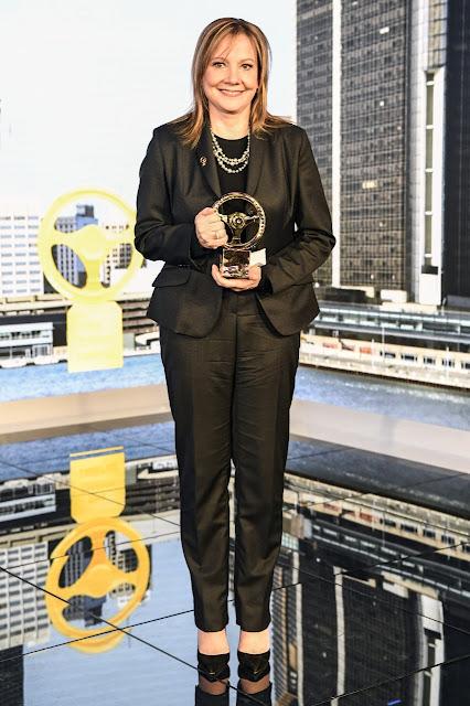 """""""Τιμητικό Χρυσό Τιμόνι 2016"""" για την Πρόεδρο & CEO της GM, Mary Barra"""
