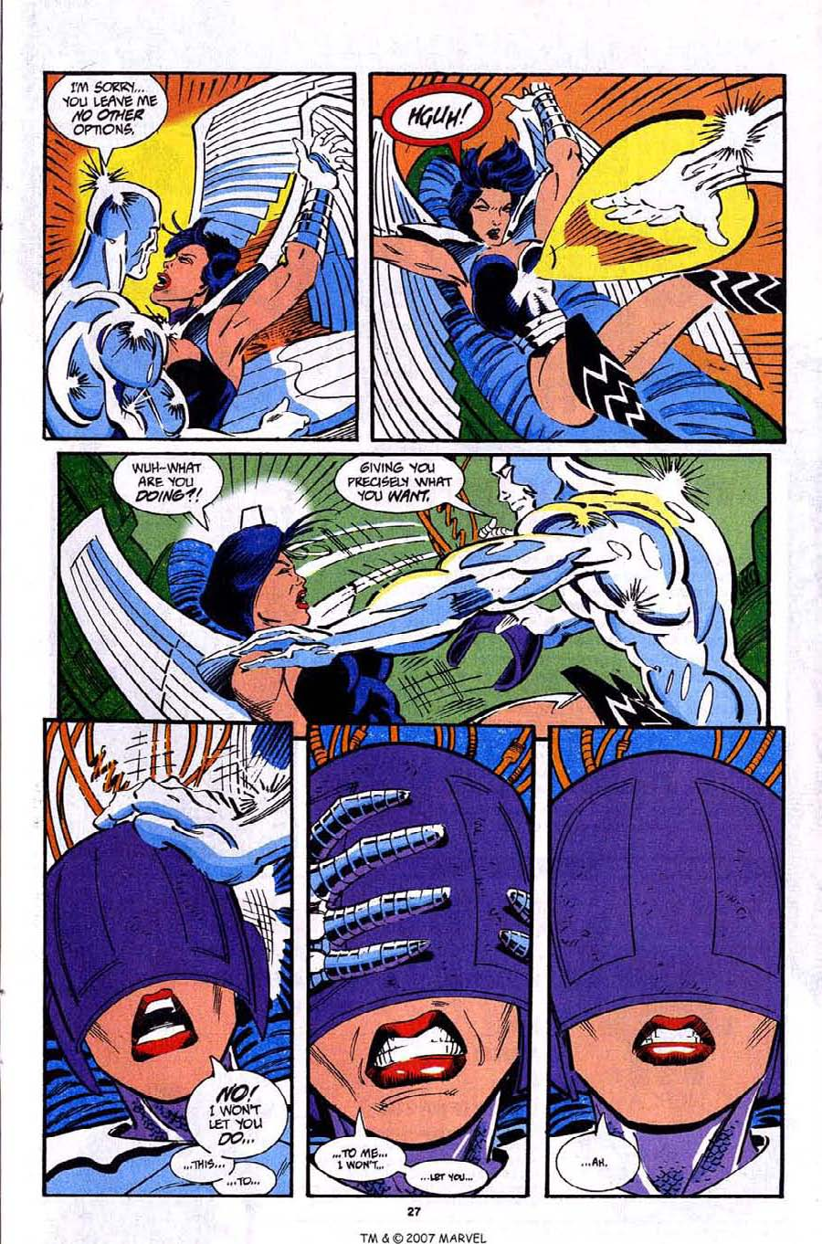 Read online Silver Surfer (1987) comic -  Issue #92 - 29