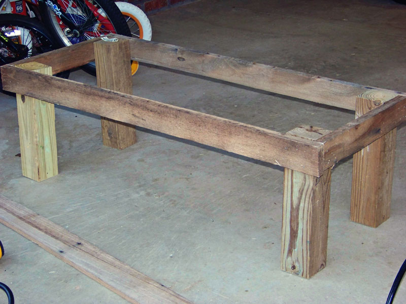 Workbench Plans With 4x4 Legs Gats