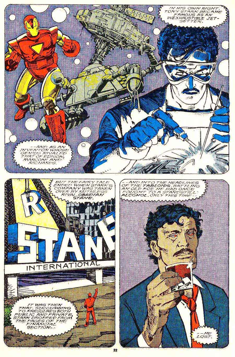 Iron Man v1 #243 marvel comic book [age art by Barry Windsor Smith