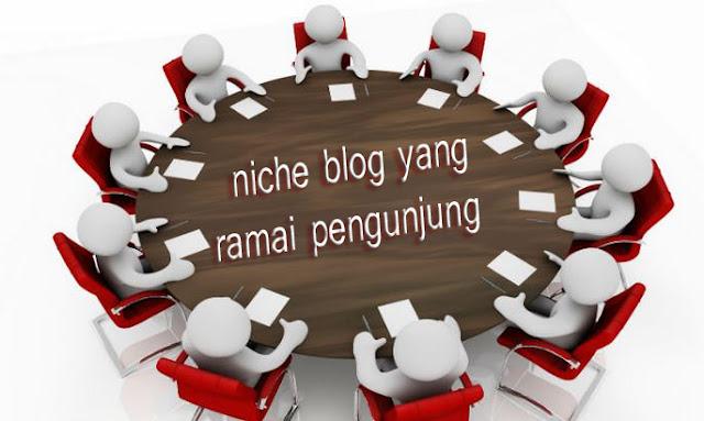 Ini Dia Niche Blog Yang  Ramai Pengunjung Dan Banyak Di Cari