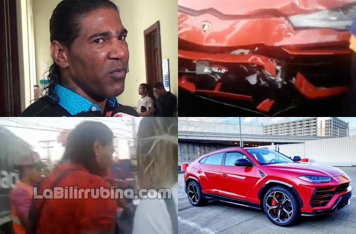 "Video: Omega ""El Fuerte"" sufre accidente"
