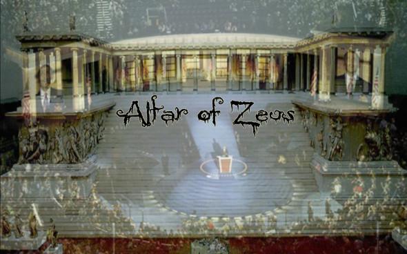 Pergamon altar obama