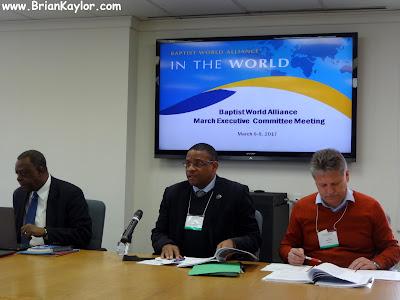 Meetings of Global Baptists