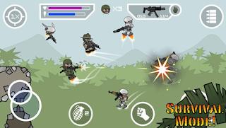 Doodle Army 2 : Mini Militia v3.0.136 Apk + Mod android
