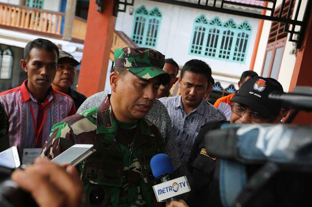 Pangdam IM: Yakinkan Bahwa Aparat Keamanan (TNI) Ada Dan Berfungsi
