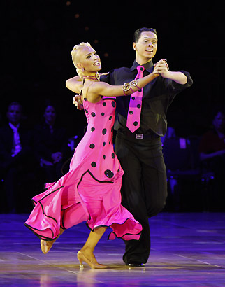 Ballroom Quickstep Dance on Basic Foxtrot Dance Steps