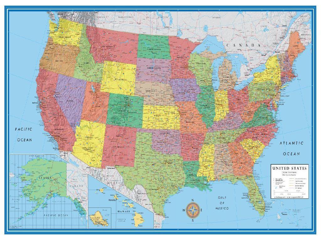 image map united states