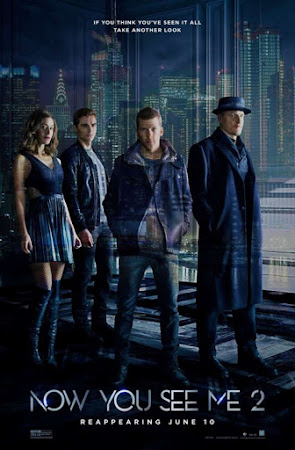 Poster Of Now You See Me 2 In Dual Audio Hindi English 300MB Compressed Small Size Pc Movie Free Download Only At worldfree4u.com