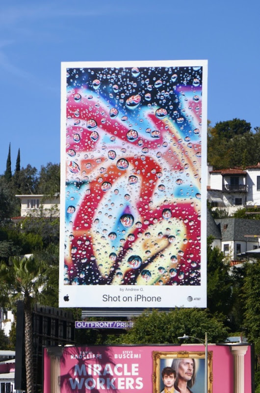 Apple Shot on iPhone Andrew G contest winner billboard