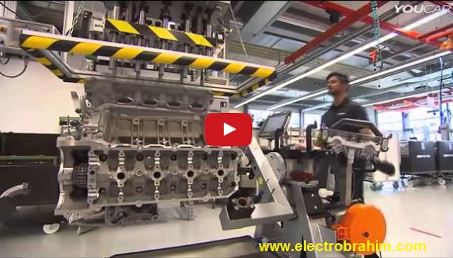 كيف يتم تجميع محرك AMG بمصنع مرسيدس