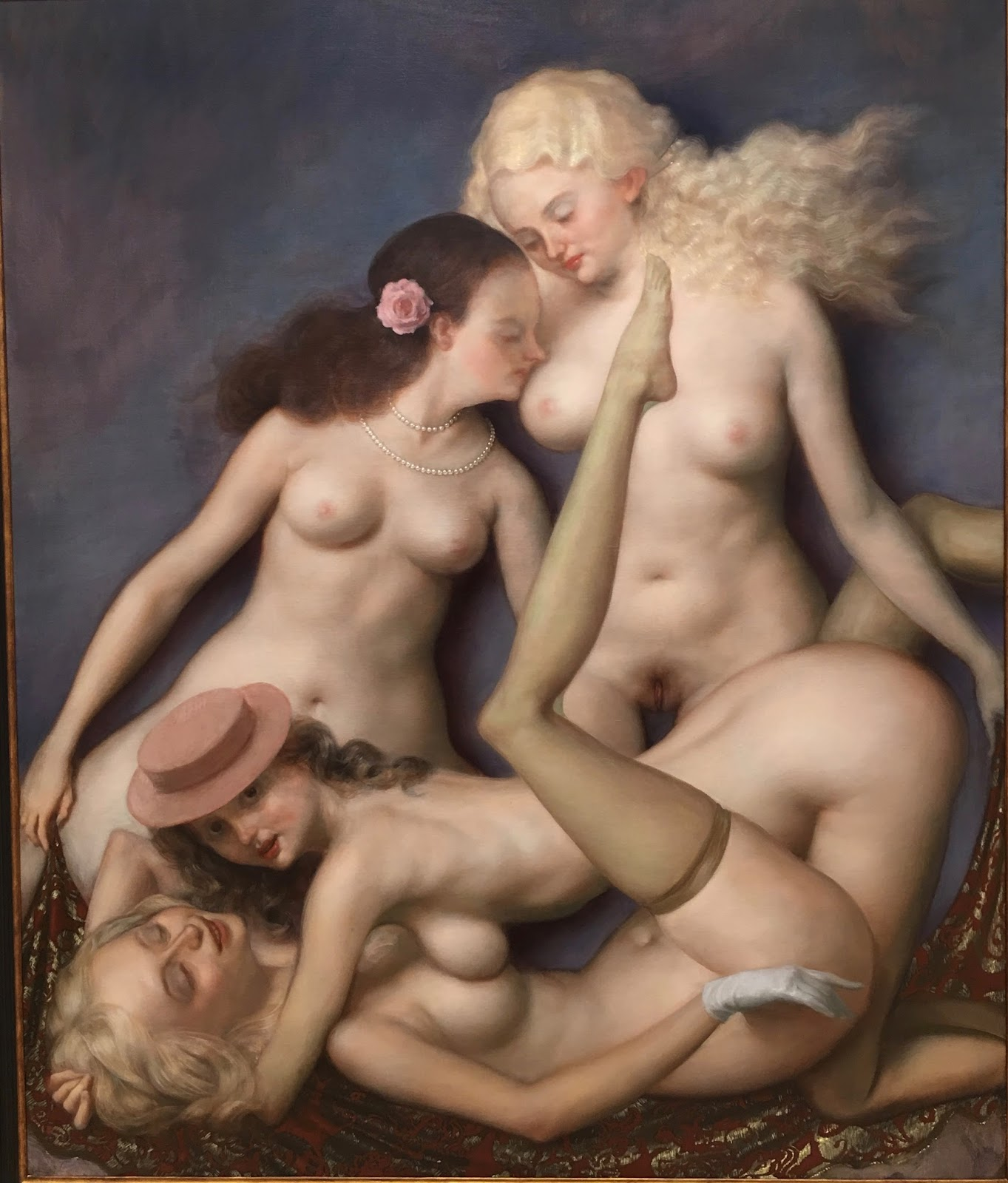 Girls nude porn paintings fisting