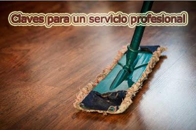 claves de un servicio de limpieza profesional