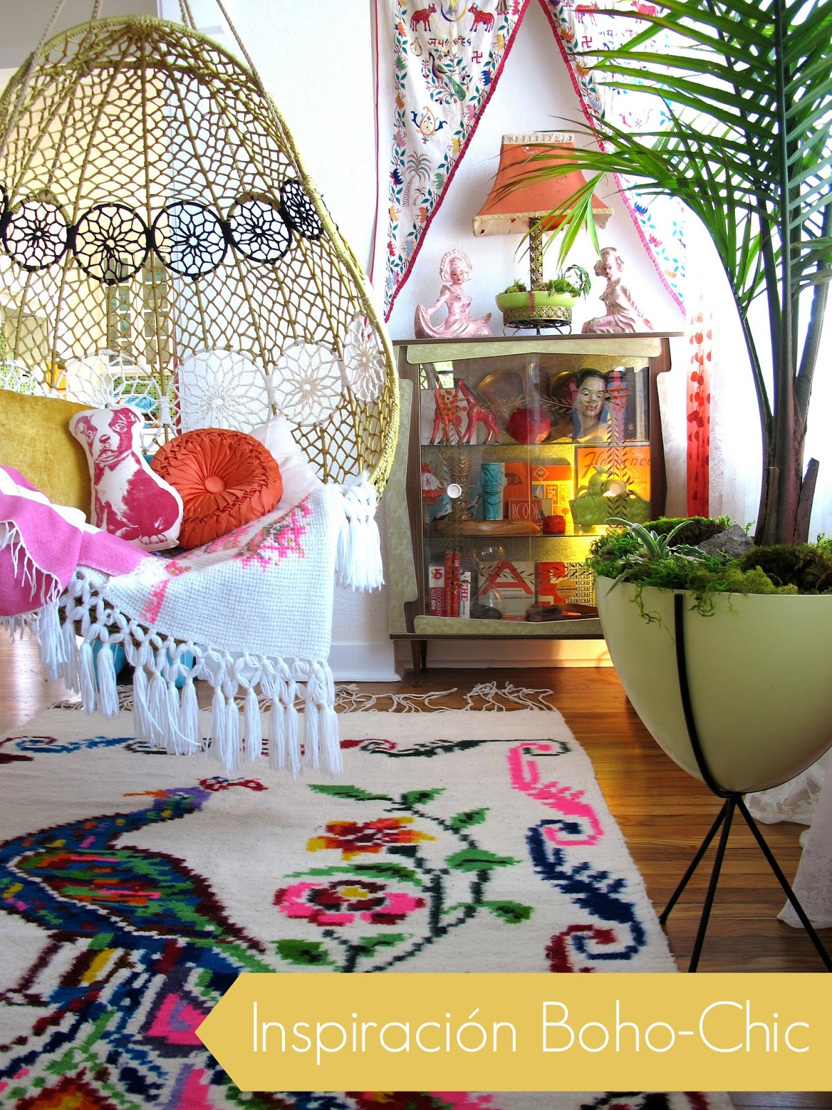 Inspiraci n estilo boho chic for Decoracion hippie chic