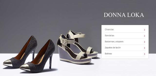 zapatos donna Loka