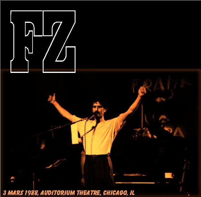bootleg addiction Frank Zappa Chicago February 3 1988 : Frank2BZappa Chicago2B 2BFebruary2B3252C2B1988 from bootleg-addiction-forever.blogspot.com size 692 x 681 jpeg 42kB