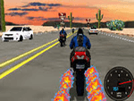 لعبة الدراجة السريعة