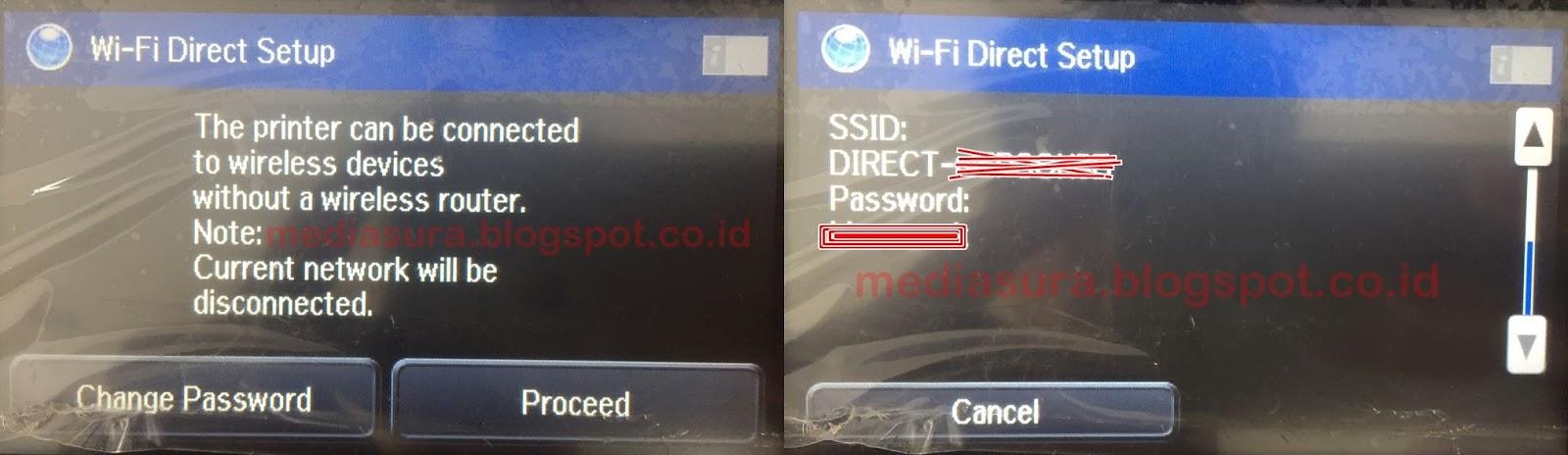 Cara Setting Wifi Direct Epson L1455 Msura