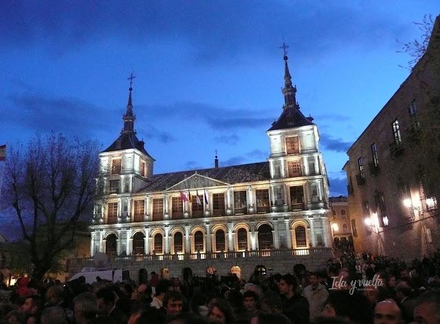Plaza Ayuntamiento Toledo edificio Ayuntamiento