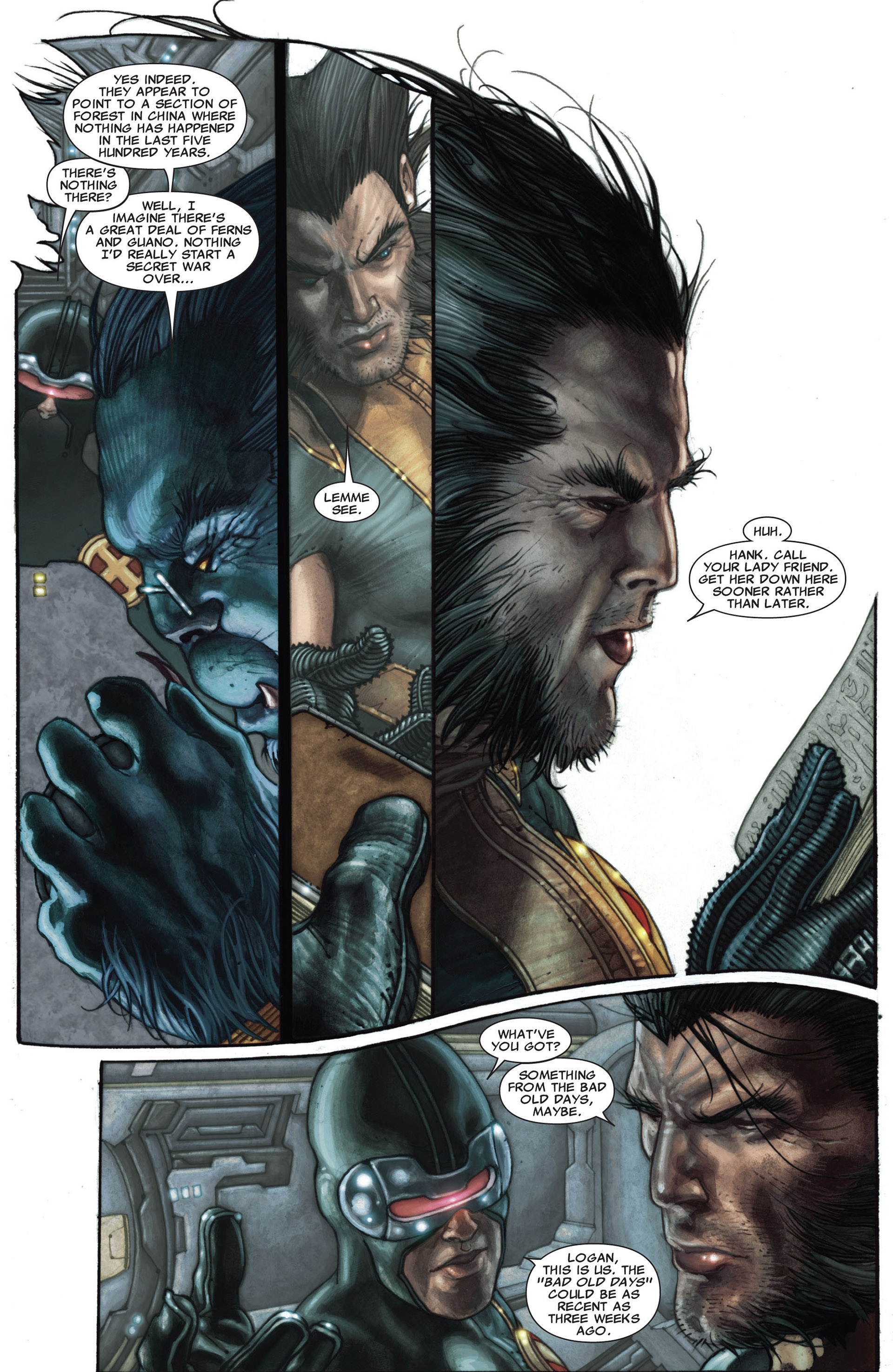 Read online Astonishing X-Men (2004) comic -  Issue #27 - 8