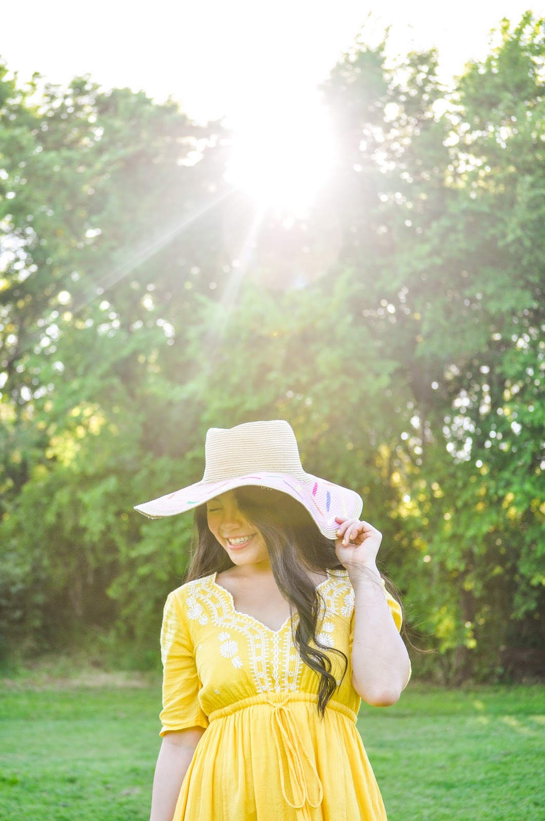 Yellow Maxi Dress from eShakti