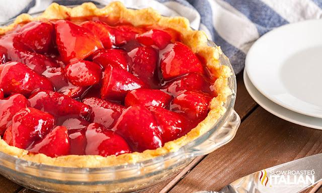 Fresh Summer Strawberry Pie Trifle