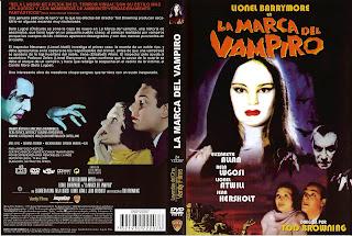 La marca del vampiro » Carátula
