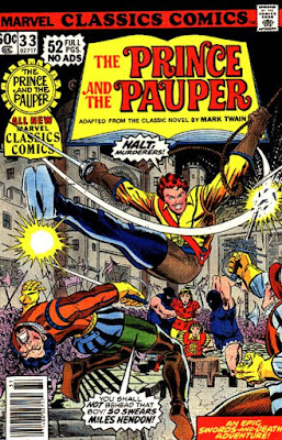 Marvel Classics Comics #33, The Prince and the Pauper