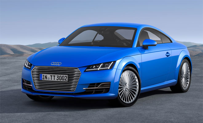 Audi TT e-tron - artists impression