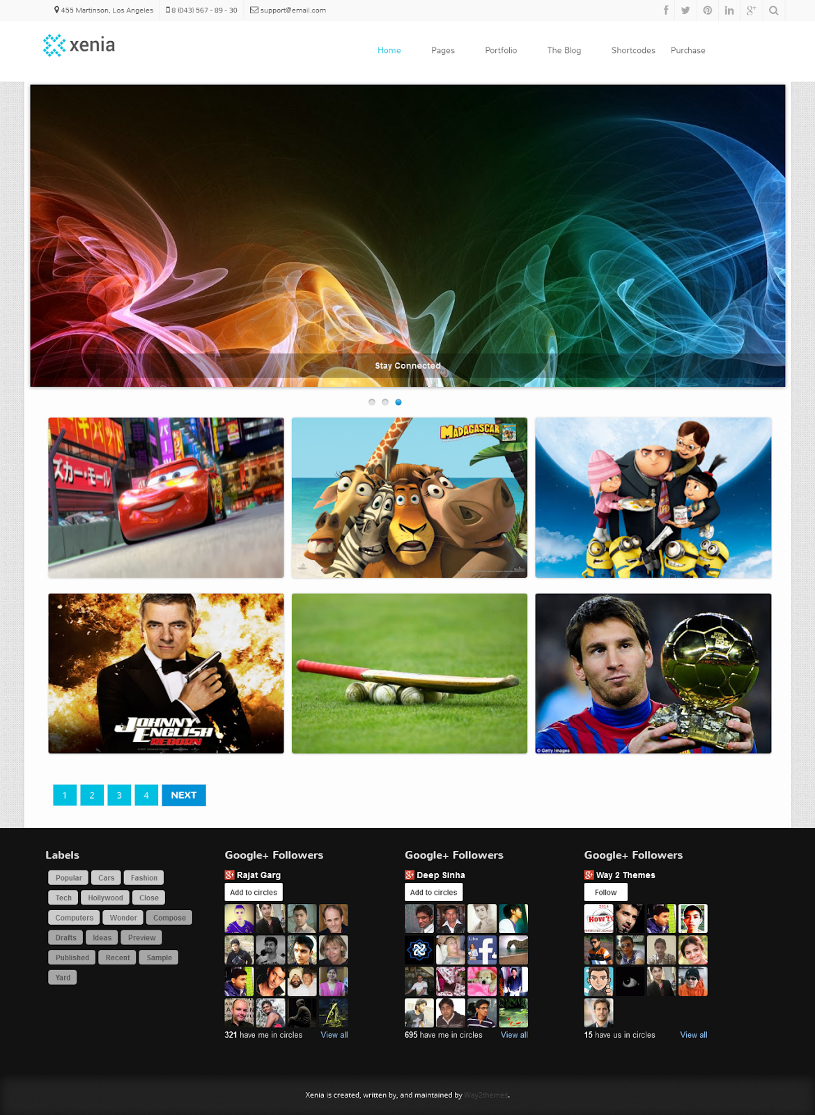 Sumpehlo Photography Blogger Template