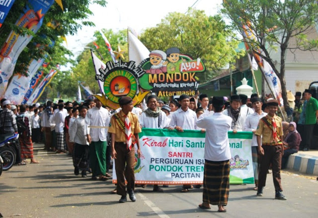 Berkat Santri, Indonesia Kondusif, tidak Konflik Seperti Timur Tengah