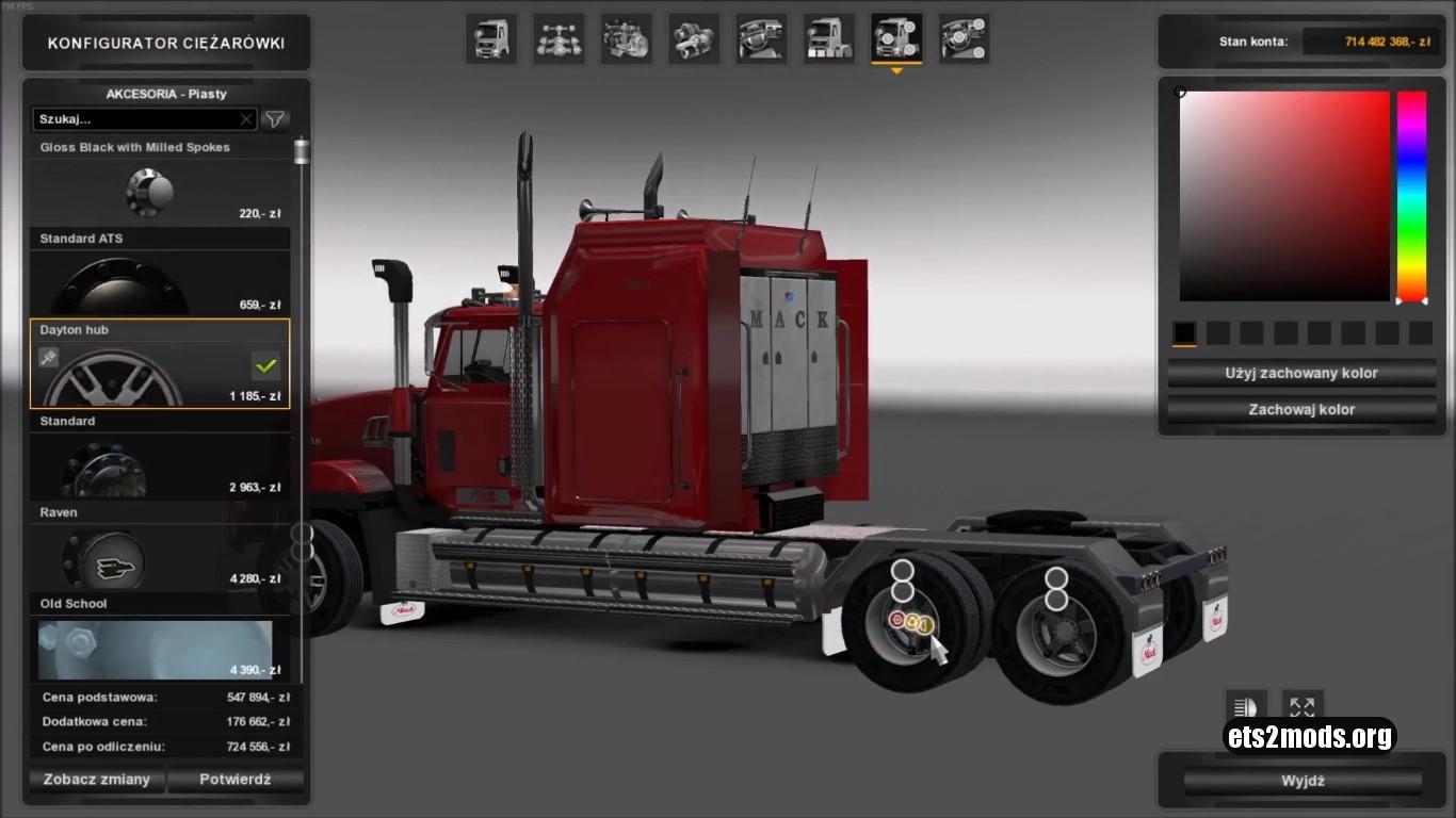 Mack Titan V8 (Updates)