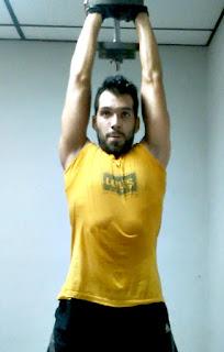 Rutina full body copa tríceps mancuernas