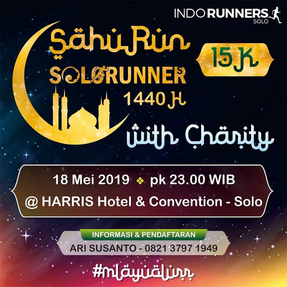 SahuRun Solorunners with Charity • 2019