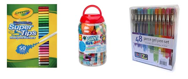 craft supply gifts for kids and tweens