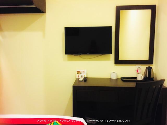 Harga Bilik Adya Hotel Kuala Lumpur | Hotel Bajet Terbaik di Kuala Lumpur