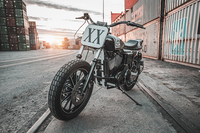 Modified Harley Davidson Sportster in XX Flat Tracker