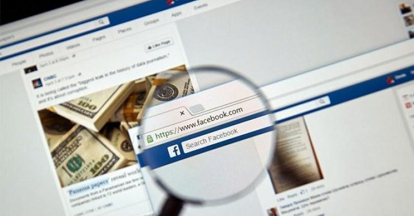 SUNAT revisa el Facebook de los contribuyentes para detectar evasiones tributarias