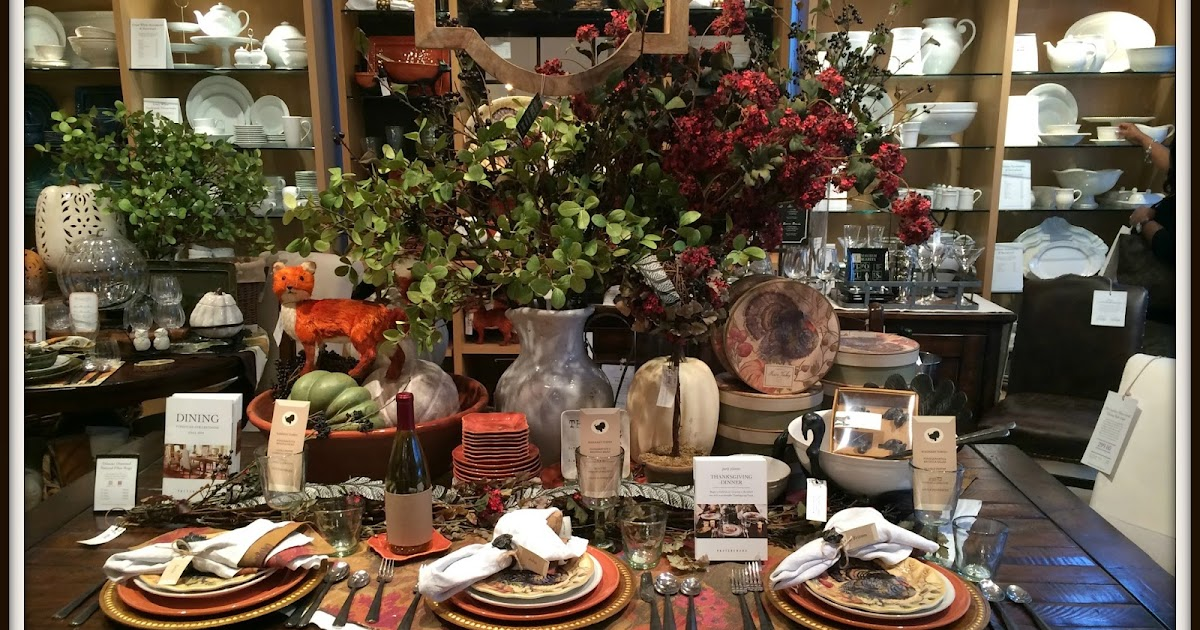 Embellishments By Slr Pottery Barn Tablescape In Charleston